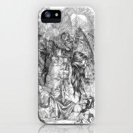 carré mystique iPhone Case