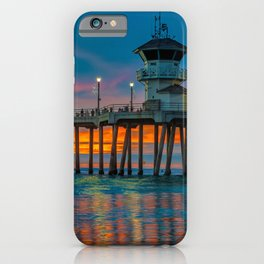 Huntington Beach Water Color iPhone Case