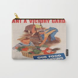 Vintage poster - Victory Garden Carry-All Pouch