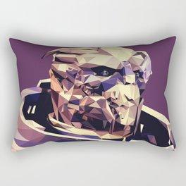 Facets of Garrus Rectangular Pillow
