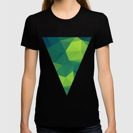 VIOLET/RED/YELLOW POLYGON T-shirt