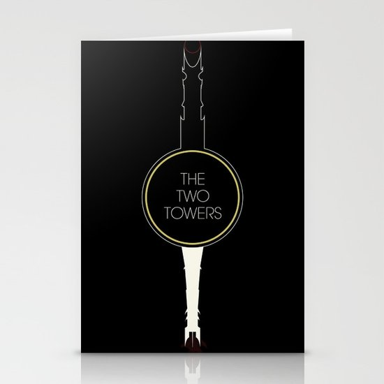 The Two Towers Stationery Cards