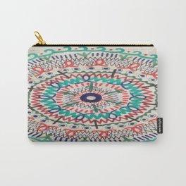 Pin Wheel Mandala Carry-All Pouch