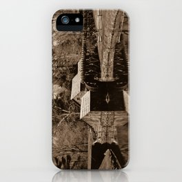 Mabry Mill (Sepia) iPhone Case