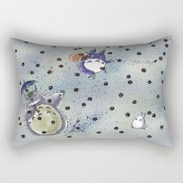 Totoro&Chibi Rectangular Pillow