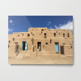 Pueblo Metal Print