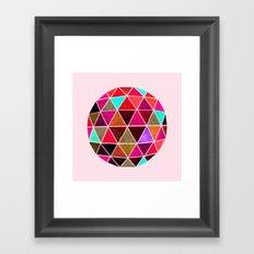 Geodesic 4 Framed Art Print