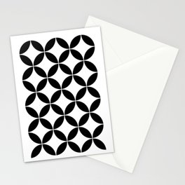Geometric Pattern #65 (circles) Stationery Cards