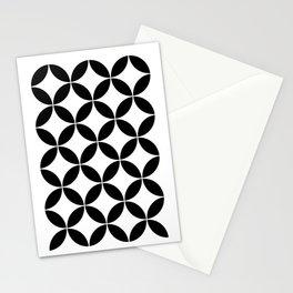 Geometric Pattern 65 (circles) Stationery Cards