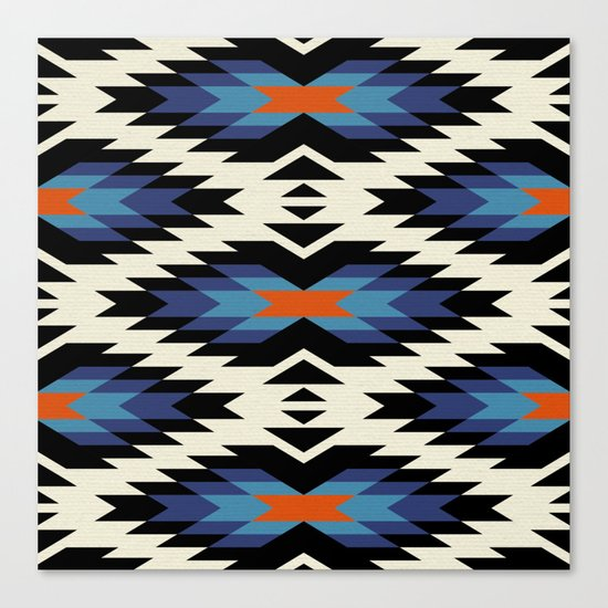 Tribal pattern Canvas Print