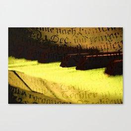 piano 2 Canvas Print