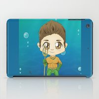 stiles iPad Cases featuring Aqua Stiles by dephigravity