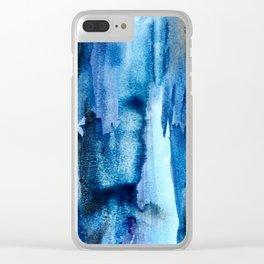 Deep Lapis Clear iPhone Case