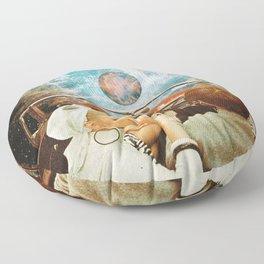 Space Riders Floor Pillow