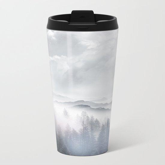 Magic in the Clouds V Metal Travel Mug