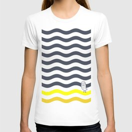 011 OWLY thick dunes T-shirt