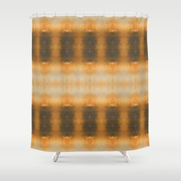 Abstract October Vibes Shower Curtain