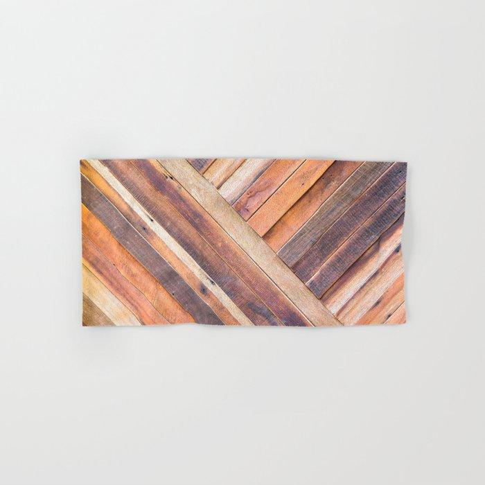 Old Wood Hand & Bath Towel