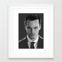 moriarty Framed Art Prints featuring -Moriarty- by JEUDI