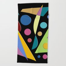 Abstract #315 Beach Towel