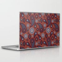 paisley Laptop & iPad Skins featuring Paisley by Lisi Fkz
