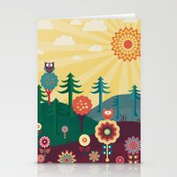 sunshine Stationery Cards featuring Sunshine by Kakel