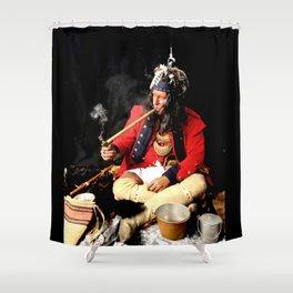 Seneca Tribe Native American 1730 Shower Curtain