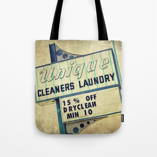 Unique Laundry Sign Tote Bag