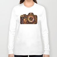 rebel Long Sleeve T-shirts featuring Rebel by S.G. DeCarlo
