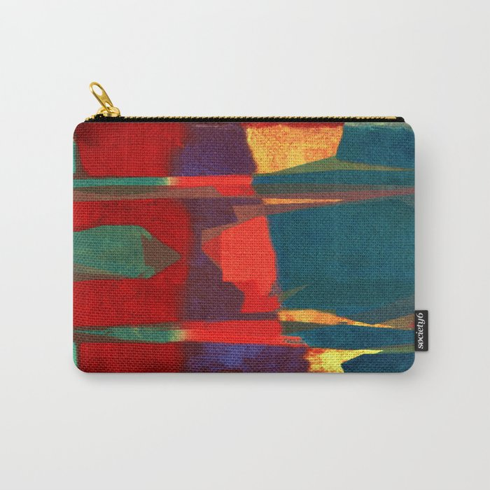The Man and the Elements Carry-All Pouch