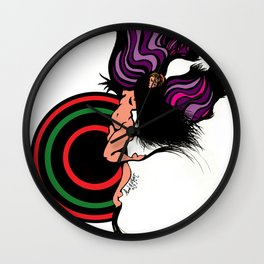 Diana in love Wall Clock