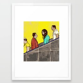 Decline Framed Art Print