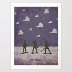 Small soldiers toy story Art Print