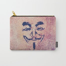 Guy Fawkes Stencil Carry-All Pouch