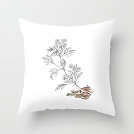 Agrion Throw Pillow