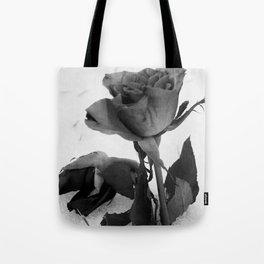 Rose in the Snow Tote Bag