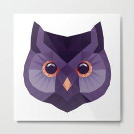 Owlygon Metal Print