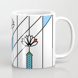 Frank Lloyd Wright Waterlilies and Ennis Coffee Mug
