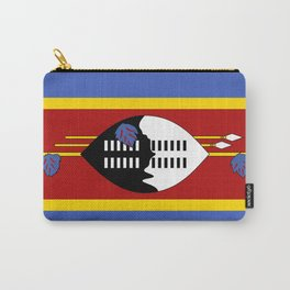 Swaziland Flag Carry-All Pouch