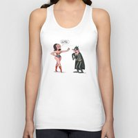 super heroes Tank Tops featuring Super Heroes  by carriehobson
