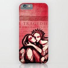 Romeo & Juliet - Shakespeare Folio Illustration Art iPhone 6s Slim Case