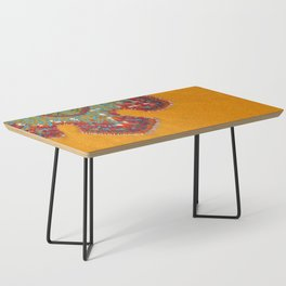 Growing - Casuarina - plant cell embroidery Coffee Table