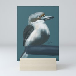 Just waiting . . . Mini Art Print