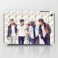 1d iPad Cases featuring Floral 1D by Valerie Hoffmann