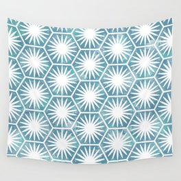 Watercolor daisy Wall Tapestry