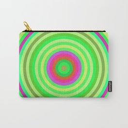 Retro Radial Carry-All Pouch