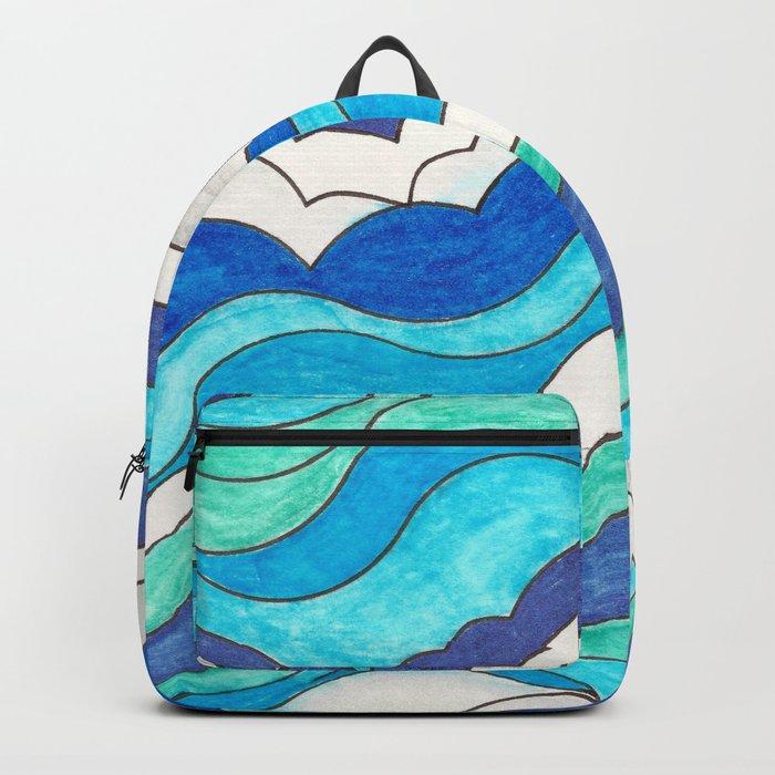 Make Waves II Backpack