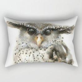 Forest Eagle Owl Rectangular Pillow
