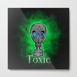 Toxic Green Metal Print