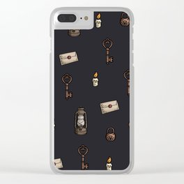 Vintage Inspiration Clear iPhone Case